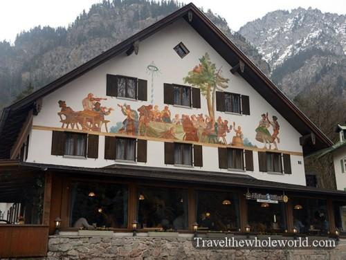 Germany Neuschwanstein Restaurant