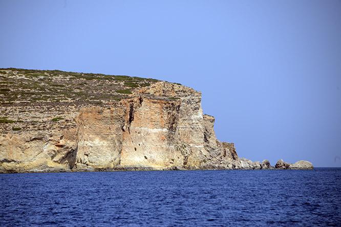 Malta Gozo Cliffs