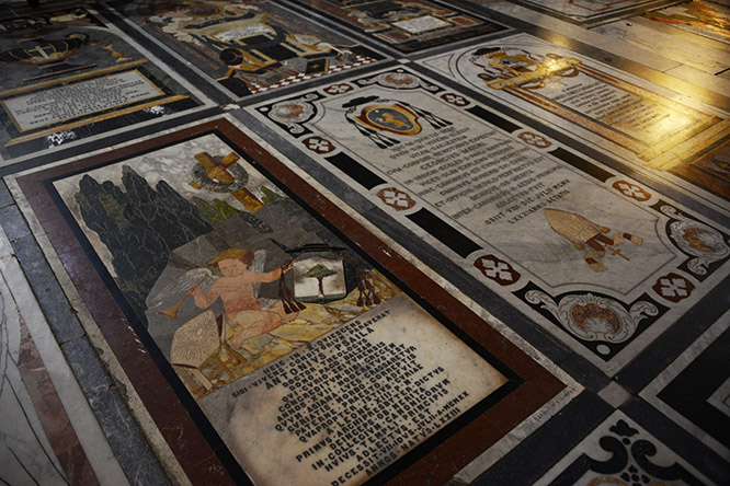 Malta Mdina Cathedral Floor