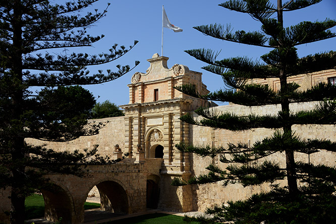 Malta Mdina Entrance