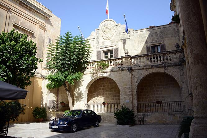 Malta Mdina Inside