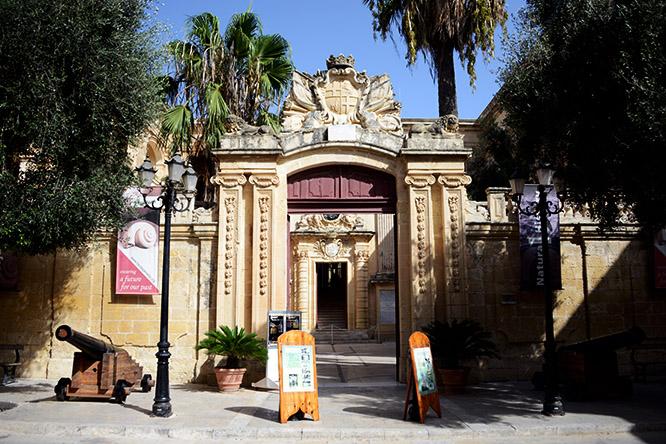 Malta Mdina Natural History Museum