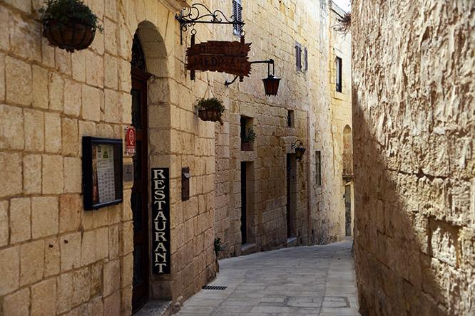 Malta Mdina Restaurant