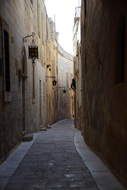 Malta Mdina Street