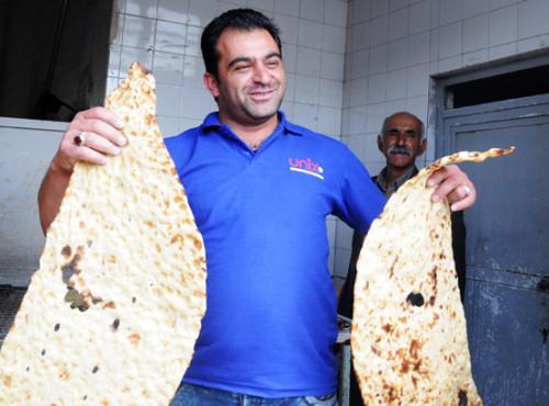 Iran Shiraz Bread