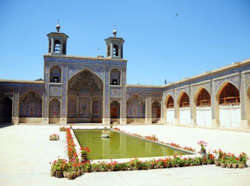Iran Shiraz Nasir Al Mulk Mosque