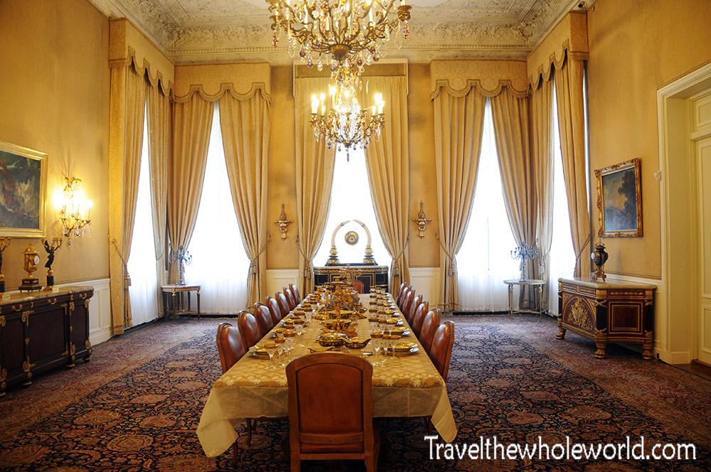 Iran Tehran Palace Dining Room