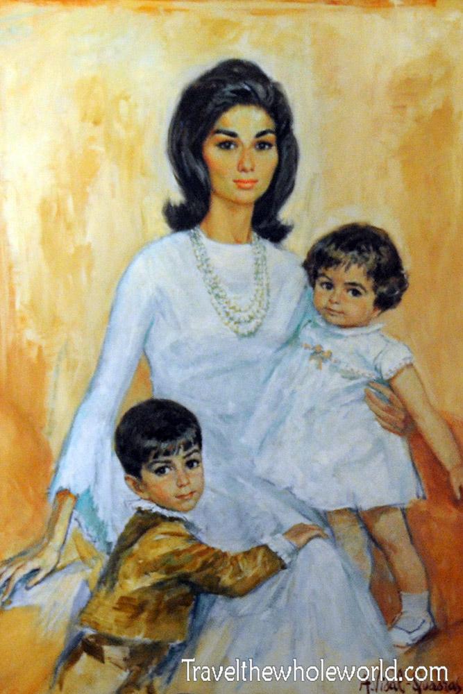 Iran Tehran Queen Farah Pahlavi