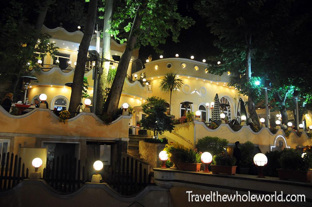 Iran Tehran Restaurants Night