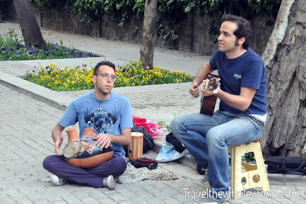 Iran Tehran Street Musicians