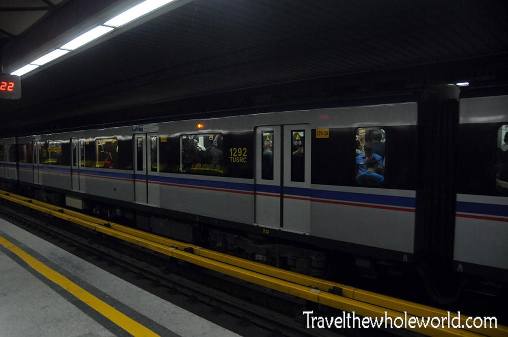 Iran Tehran Subway Train