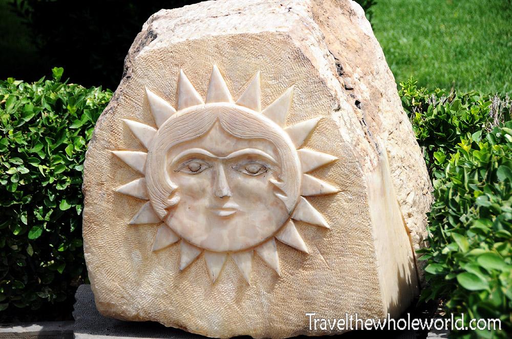 Iran Tehran Stone Sun