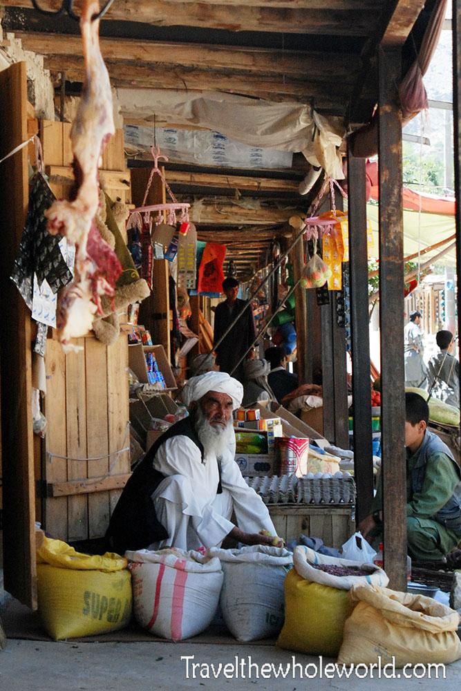 Afghanistan Istalif Market