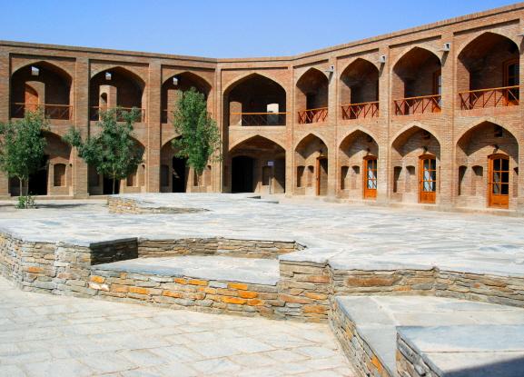 Afghanistan Kabul Babur Gardens Hotel