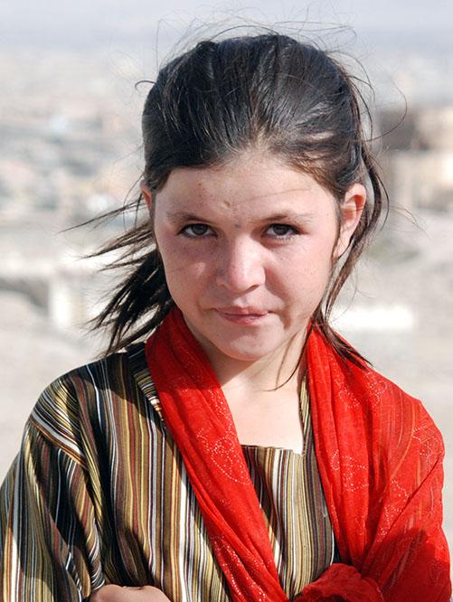 Afghanistan Afghan Kabul Girl