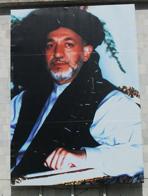 Afghanistan Kabul Karzai