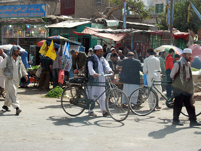 Afghanistan Kabul Market