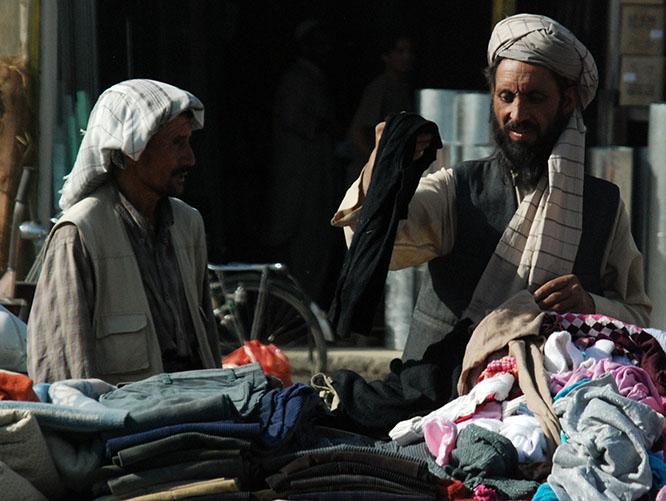 Afghanistan Kabul Market Man