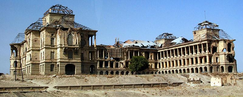 Afghanistan Kabul Amanullah Khan's Palace