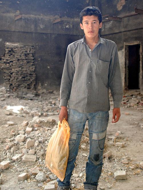 Afghanistan Kabul Young Afghan Kid