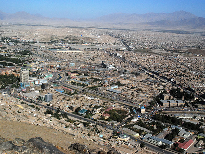 Afghanistan Kabul View