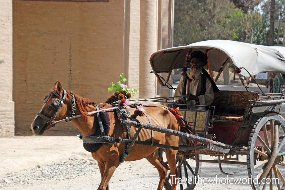 Afghanistan Mazar Sharif Chariot