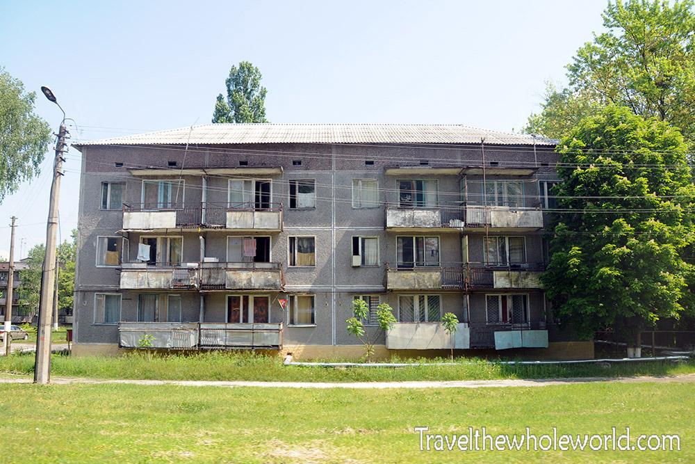 Chernobyl Abandoned Building