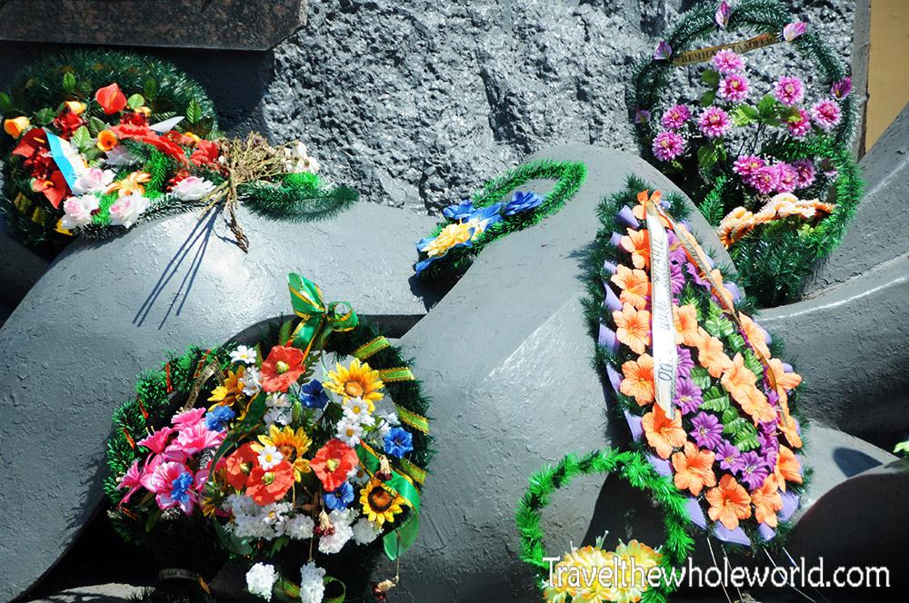 Chernobyl Memorial Flowers