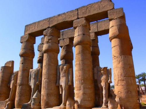 Egypt Luxor Columns