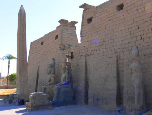 Egypt Luxor Enterance