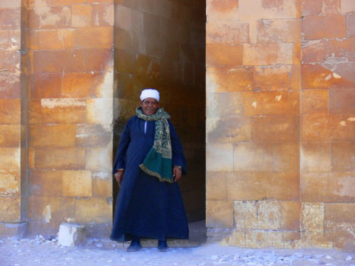 Egypt Step Pyramid Entrance