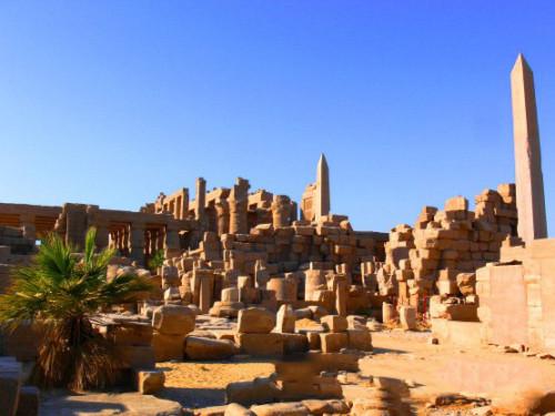 Egypt Temple Ruins