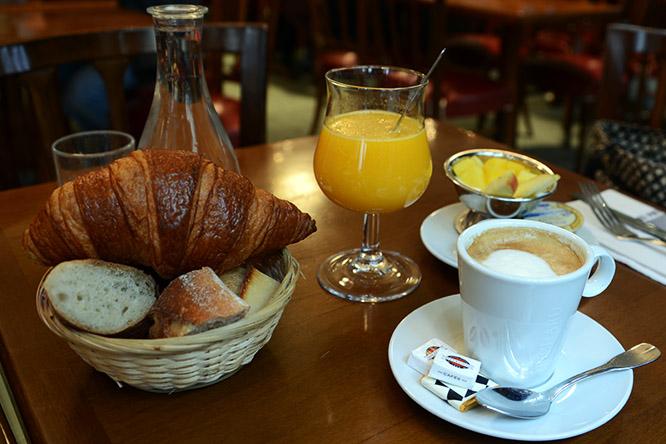 France Paris Breakfast