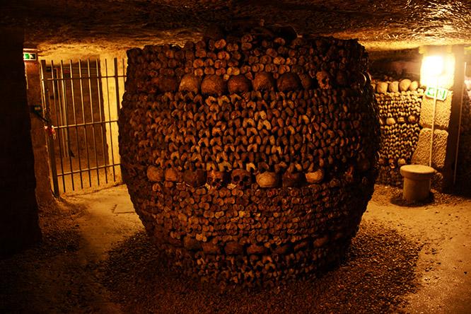 France Paris Catacombs Circle
