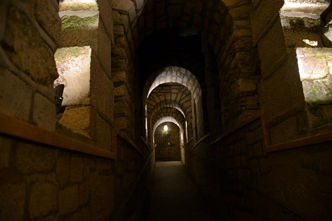 France Paris Catacombs Hallway