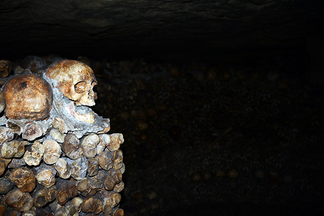 France Paris Catacombs