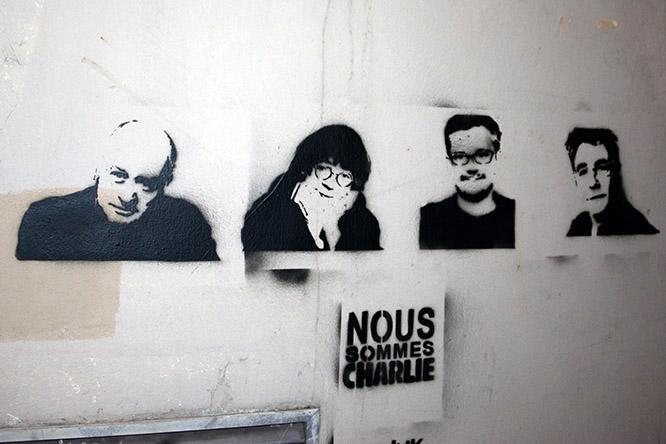 France Paris Charlie Hebdo Artists
