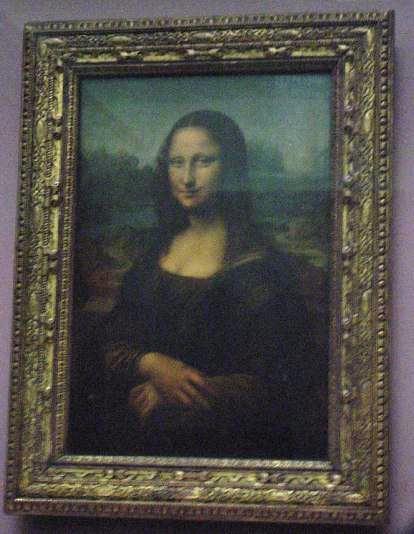 France Paris Louvre Mona Lisa