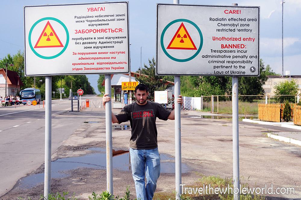 George Kashouh Ukraine Chernobyl