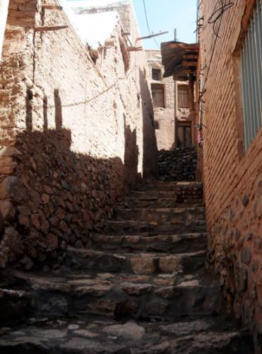Iran Abyaneh Stairs