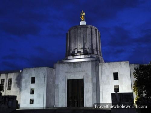Oregon-Salem-Capitol