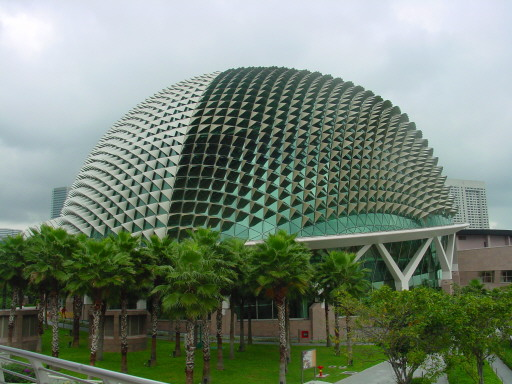 Singapore Beehive Building