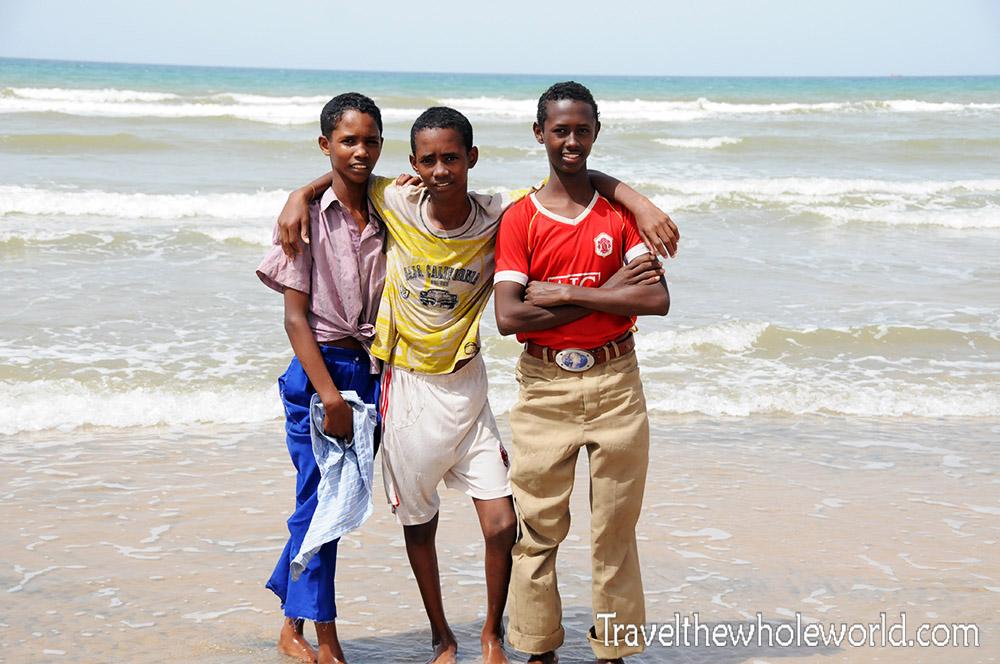 Somalia Beach Kids