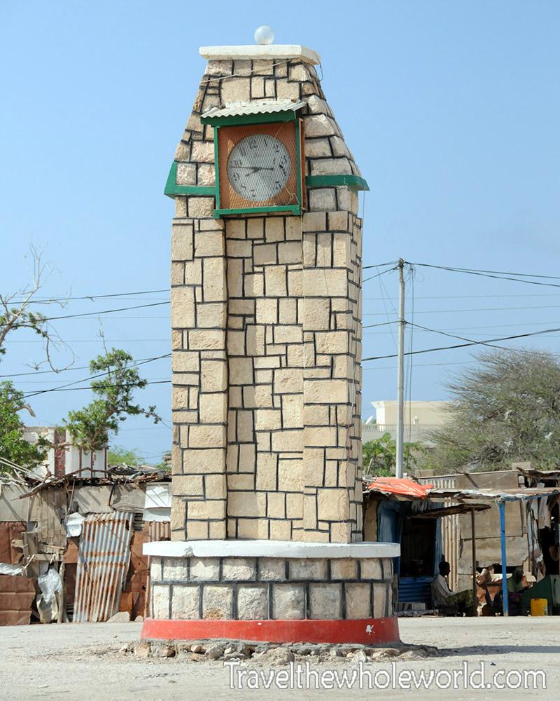 Somalia Berbera Clock Tower