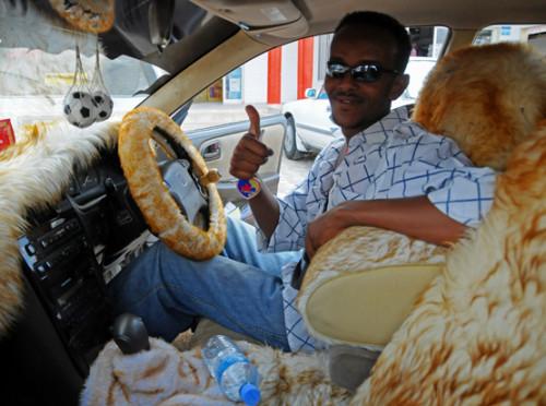 Somalia Hargeisa Taxi Driver