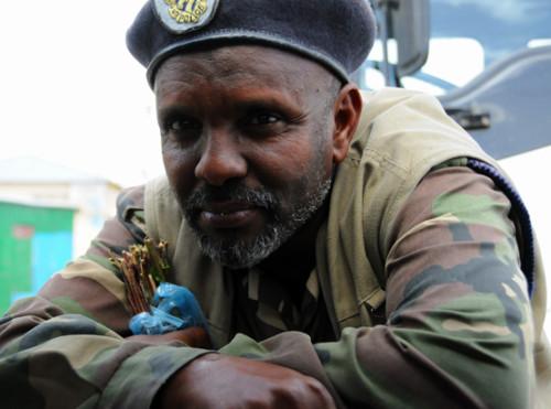 Somalia Sheikh Police