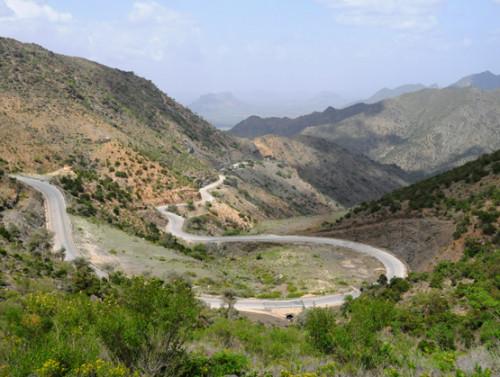 Somalia Sheikh Road