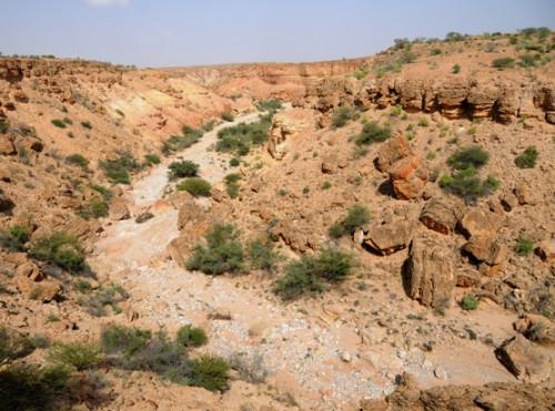 Somalia Canyons