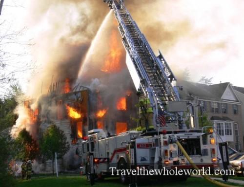 USA Virgina - Springfield Fire2