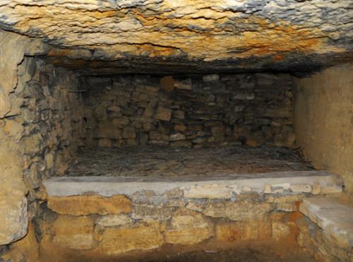 Ukraine Odessa Catacombs Bed